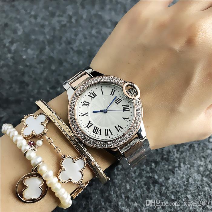 f00c403ee72d Compre 2019 Nueva Marca Relojes De Lujo Mujeres DW Vestido Para Dama Relojes  Mujer Relojes Deportivos Correa De Acero Inoxidable Reloj De Pulsera  Diseñador ...