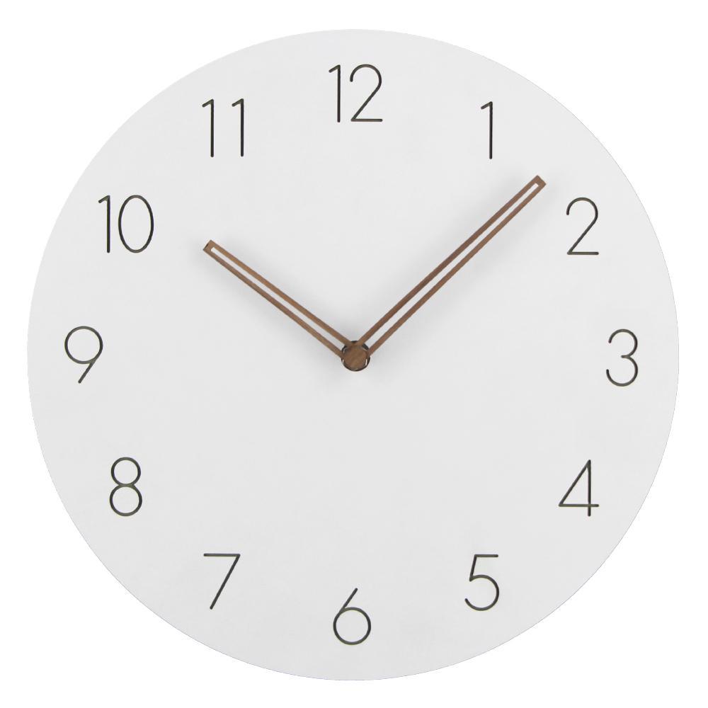 Großhandel 2018 Heißer Verkauf Slient Mdf Holz Wanduhr Modernes Design  Vintage Rustikale Schäbige Uhr Ruhig Art Watch Home Dekoration Von  Harriete, ...
