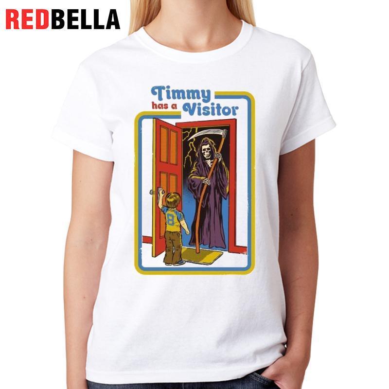 Camiseta Compre Mujer Mujeres Vintage De Redbella 7Zq0x6Z