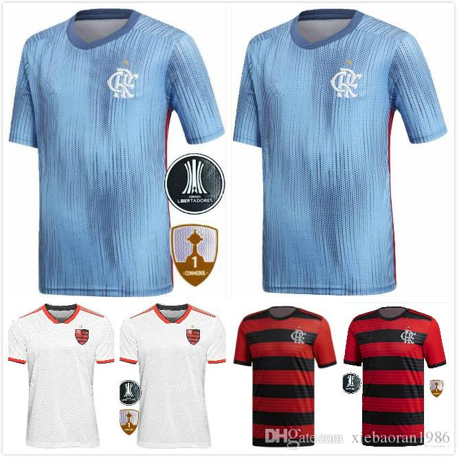 new products e9fee 402d9 Top Thai quality 18 19 Chandal Flamengo home Soccer Jersey 2018 2019 Brasil  Flemish flamengo Away white DIEGO CONCA WOMEN Football shirts