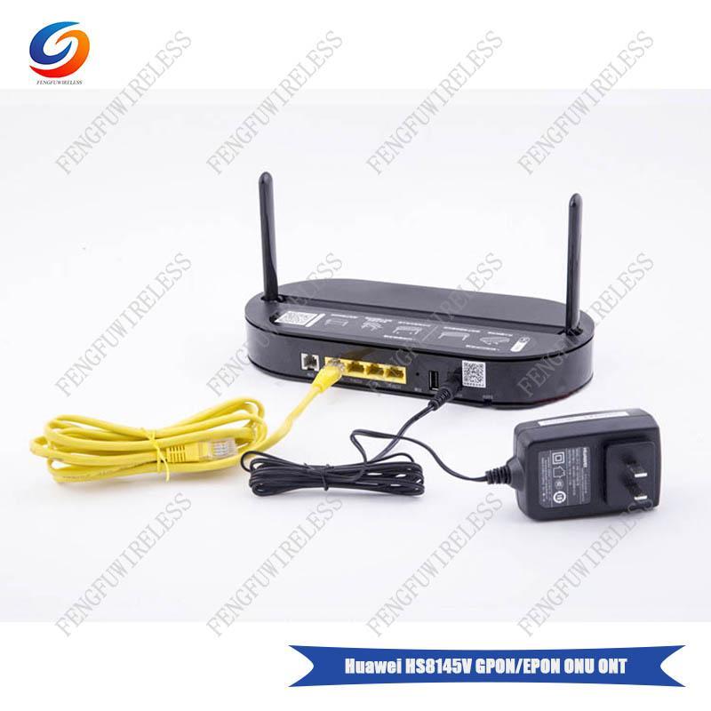 Hua wei Original HS8145V GPON ONU ONT HGU Dual Band Router 4GE Wifi2 4GHz  /5GHz Same Function as HG8245U HG8245Q2 GPON ONU