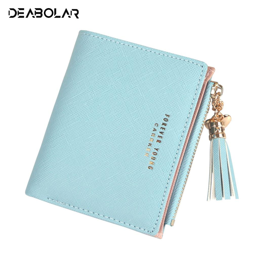 Women Wallet Lovely Short Paragraph Zipper Hasp Purse Small Clutch Fashion  Buckle PU Female Wallets Card Holder Coin Purse Black Leather Wallet Mens  Front ... 529175c9ddd8