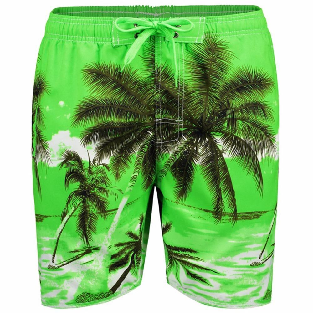 25c810236d 2019 Men Beach Shorts Quick Drying Casual Clothing Shorts Homme Outwear Palm  Tree Print Mens Board Short Plus Size XL 5XL From Paluo, $21.82 | DHgate.Com
