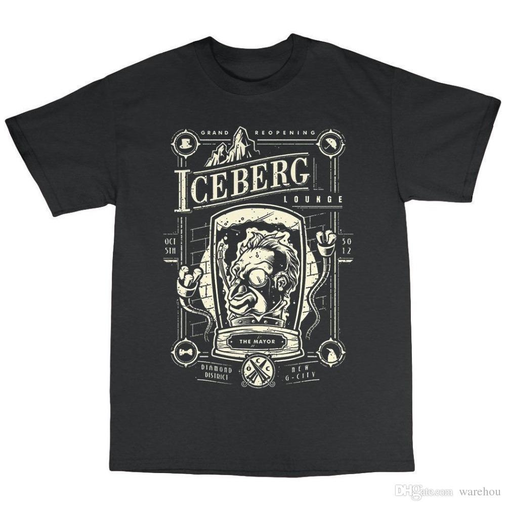 a1e64164 3D Print T Shirt Cotton Tops Tee 2018 The Iceberg Lounge Penguin T Shirt  100% Cotton Funny Crew Neck Short Sleeve T Shirt T Shart Fun Shirts From  Warehou, ...