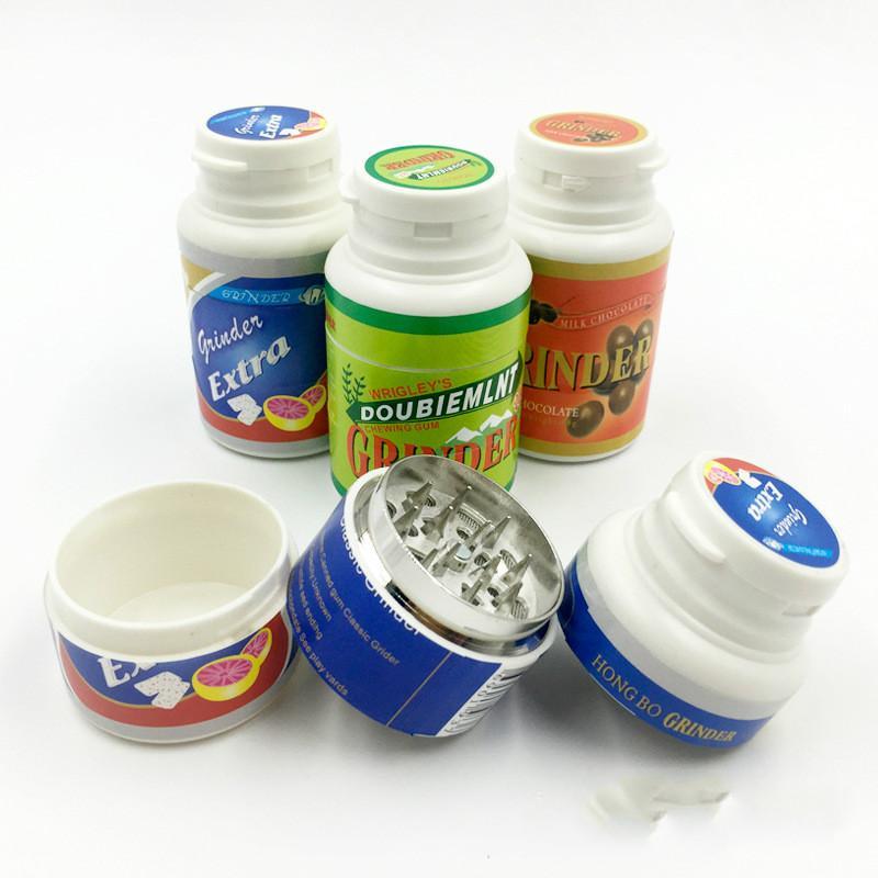 online cheap novety portable creative chewing gum grinder herb