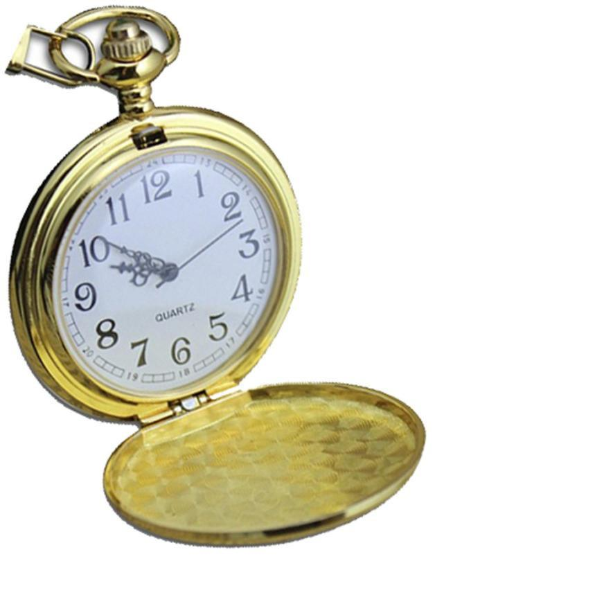 d23414943 Moment # L02 2018 Fashion Alloy Gold Smooth Stainless Steel Case White Dial  Arabic Numbers Modern Pocket Watch Pocket Watches Cheap Watchs From  Sisan08, ...
