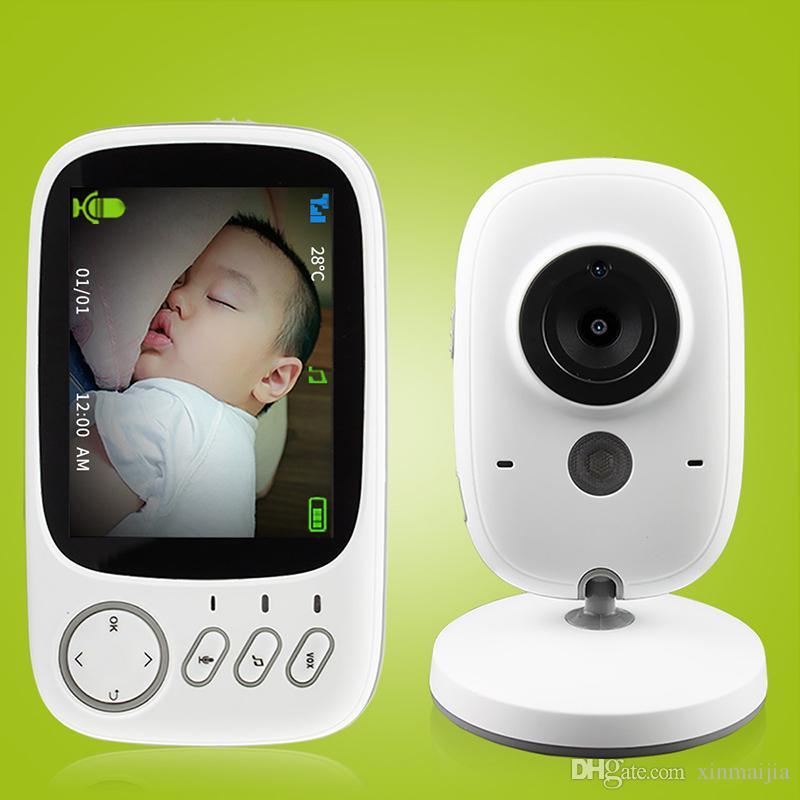 b7ef9328816 2.4G Wireless Video Color Baby Monitor Night Vision Intercom Camera ...