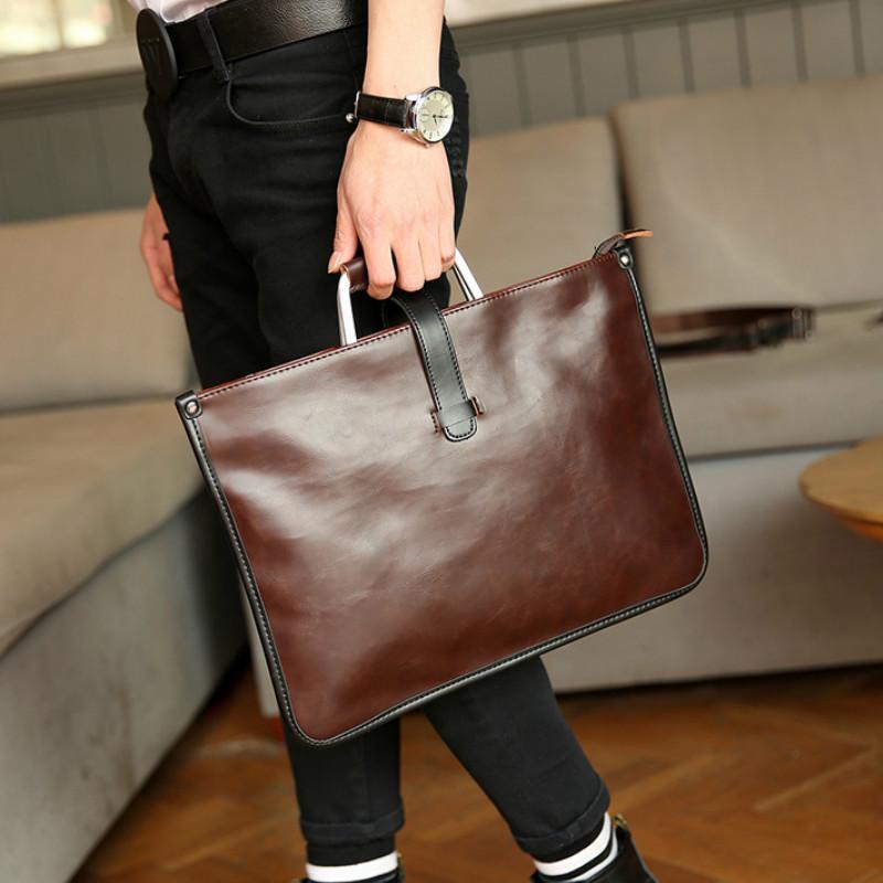 e84c27121d98 Tidog Korean Male Bag Vintage Bag Men Ladies Handbag Briefcase Men  Briefcase Briefcase Handbag Man Bag Briefcase Online with  56.34 Piece on  Kingless s ...