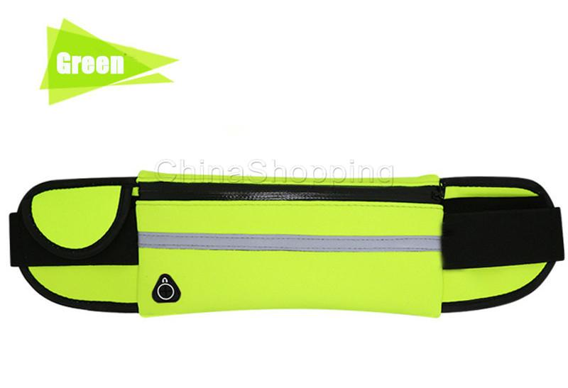 Waterproof Waist Bag Outdoor Running Sport Fashion Pack Pouch For iPhone X 8 7 6 6S Plus Water Resistant Phone Case