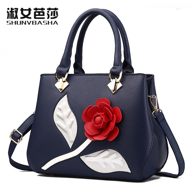 5e8f2bf69f Women Handbag Female PU Leather Bags Handbags Ladies Portable Messenger Bags  Shoulder Bag Office Ladies Hobos Bag Totes For Lady Clutch Bags Hobo Bags  From ...