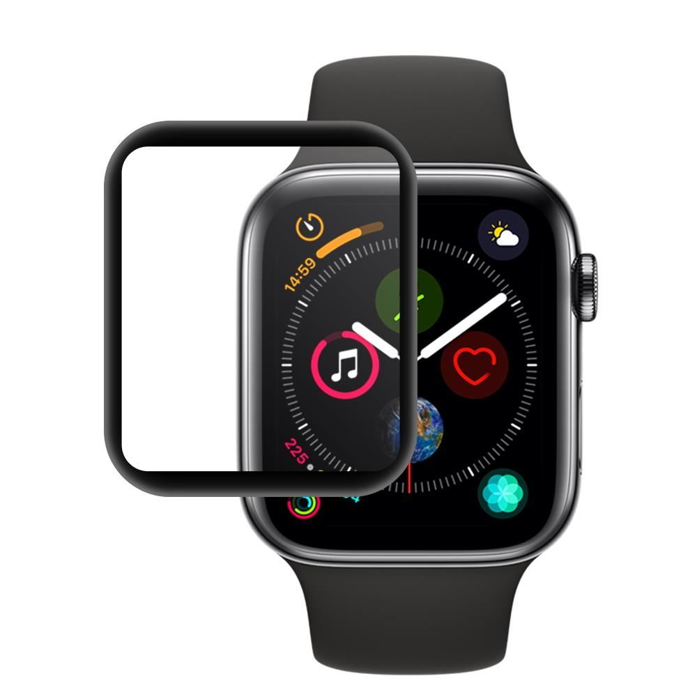 size 40 8d8dc 29ec7 For Apple Watch 4 Full Covered Tempered Glass 3D Film Screen Protector 9H  Protective Cover For iwatch Series 4 40mm 44mm