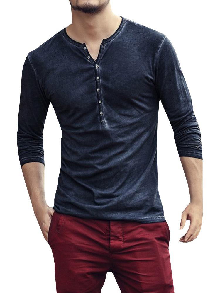 e419fdb3ee9d 2018 NEW Trendy Summer Men T Shirt Casual Long Sleeve Slim Men S Basic Tops  Tees Stretch T Shirt Chemise Homme Brand Clothing Tees T Shirt Shirts Print  From ...