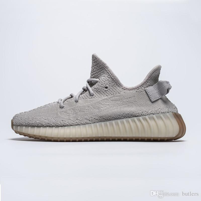 best website 0274e 83a8d Kanye West V2 Butter Sesame Beluga 2.0 Bred Cream White Copper Zebra Sports  Running Shoes Sneakers With Box Online For Sale