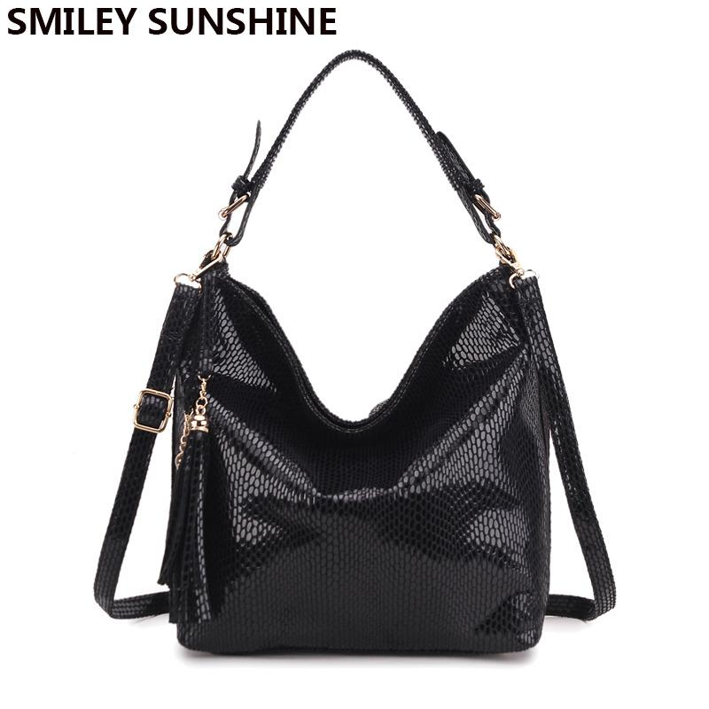 Fashion Women Leather Handbags Shoulder Bag 2018 Ladies Top-handle ... cfc3a920f0659
