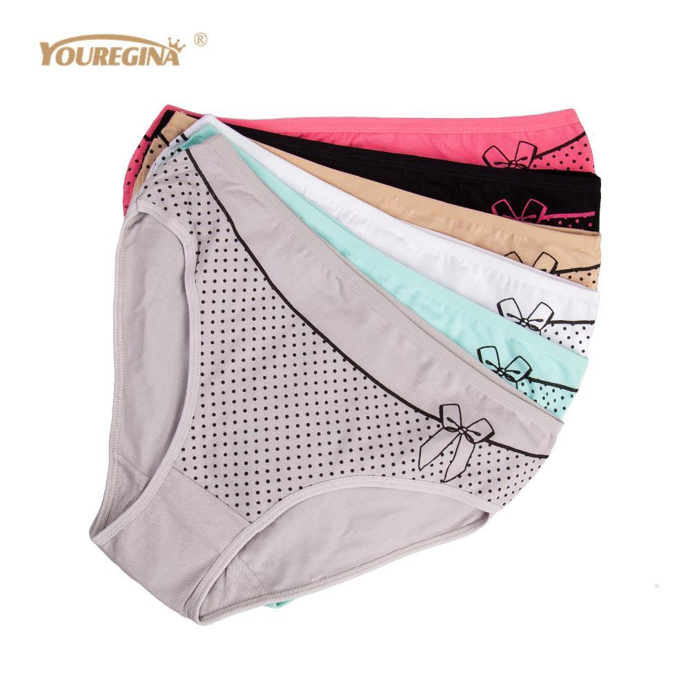 fbf712188fd2e 2019 Wholesale Underwear Women Plus Size Sexy Panties High Waist Cotton  Womens Lingerie Ladies Panties Bikini Underpants From Mingmusic002