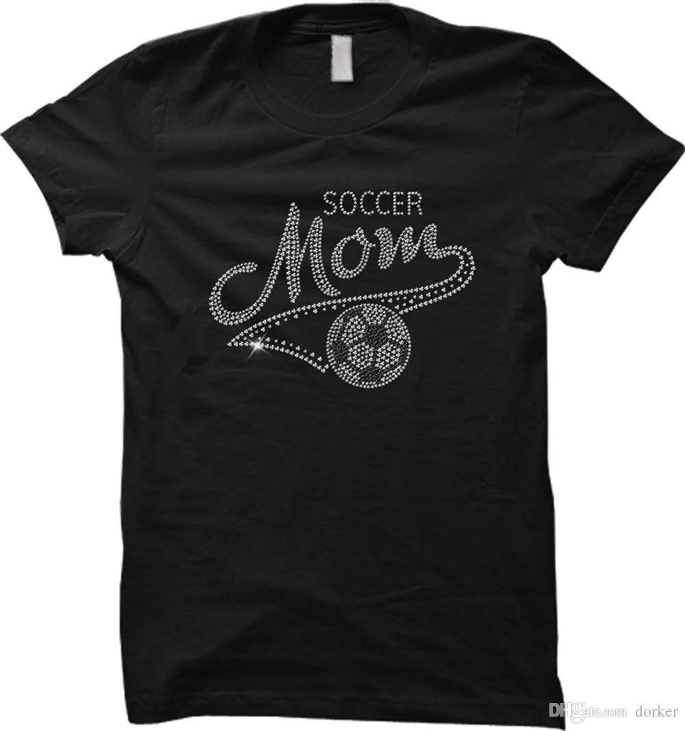 Compre 2018 Nuevas Camisetas De Verano Soccerer Mom Día De La Madre