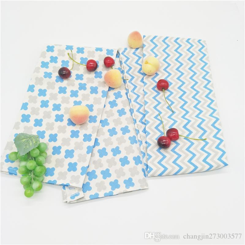 cotton leaves printing dishtowel napkin kitchen towel cleaning cloth