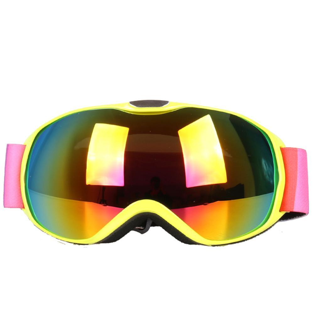 84b46c9abf4 Snow Snowboard Goggles for Children Outdoor Ski Goggles Double ...