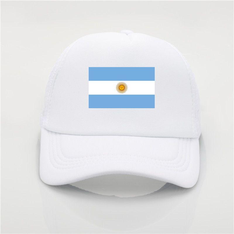 c129493dad1 Argentina Flag Logo Baseball Cap Patriotic Hat Sport Soccer ...