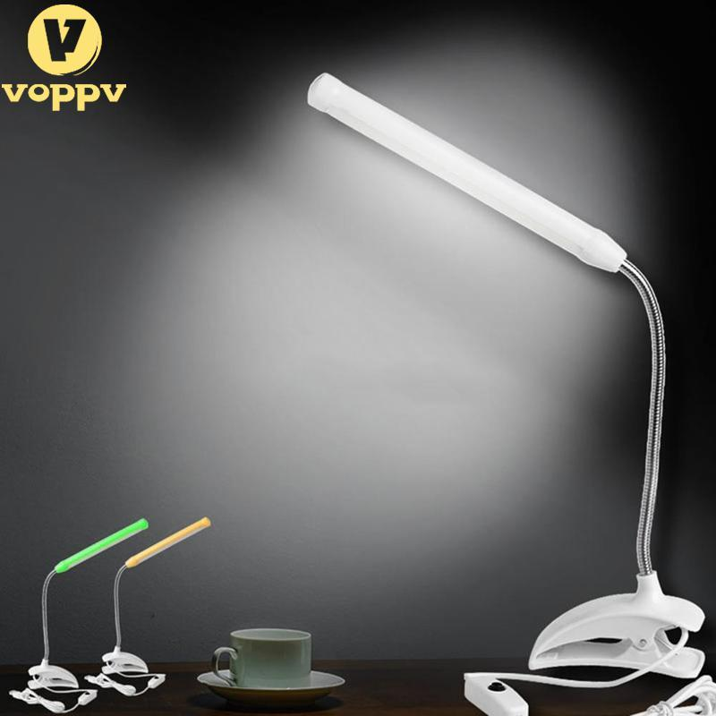 Useful Usb Clip-on 13 Led Light Clamp Bed Table Study Desk Reading Lamp Adjustable New Book Lights
