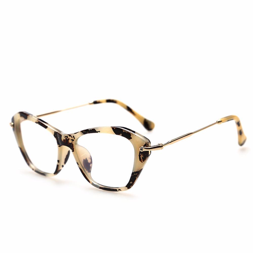 Großhandel Frauen Retro Reizvolle Brillen Rahmen Art Und Weisekatzen ...