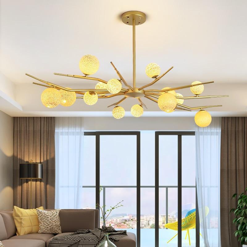 Großhandel Moderne LED Wohnzimmer Kronleuchter Decke Hause Hängen ...