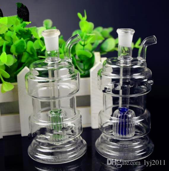 Irregular glass sand core filter water bottle Wholesale Glass bongs Oil Burner Glass Water Pipes Oil Rigs Smoking Rigs