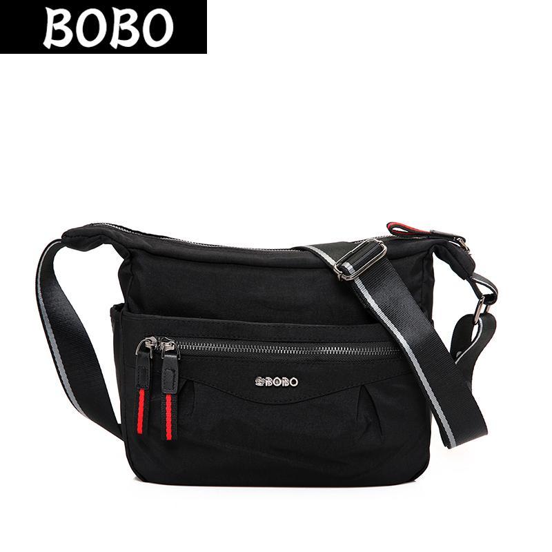 BOBO Waterproof Nylon Women Messenger Bag Casual Ladies Shoulder Bags  Zipper Female Handbag Travel Crossbody Bags Bolsa Feminina Branded Handbags  Ivanka ... 891d4a467f02a