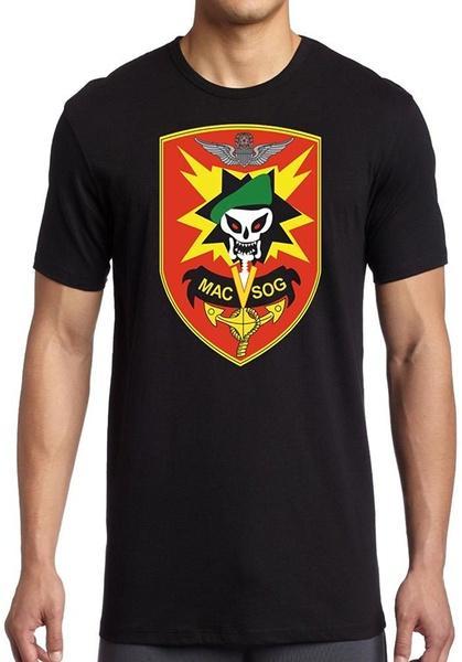 Compre Special Forces Badge T Shirt De Manga Curta Para Homem De