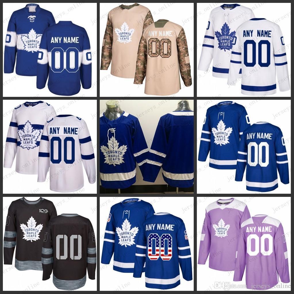 4b996ef1b 2019 Custom Mens Women Youth Toronto Maple Leafs 16 Mitch Marner 34 Auston  Matthews 91 John Tavares Jerseys S 3XL From Jerseys online