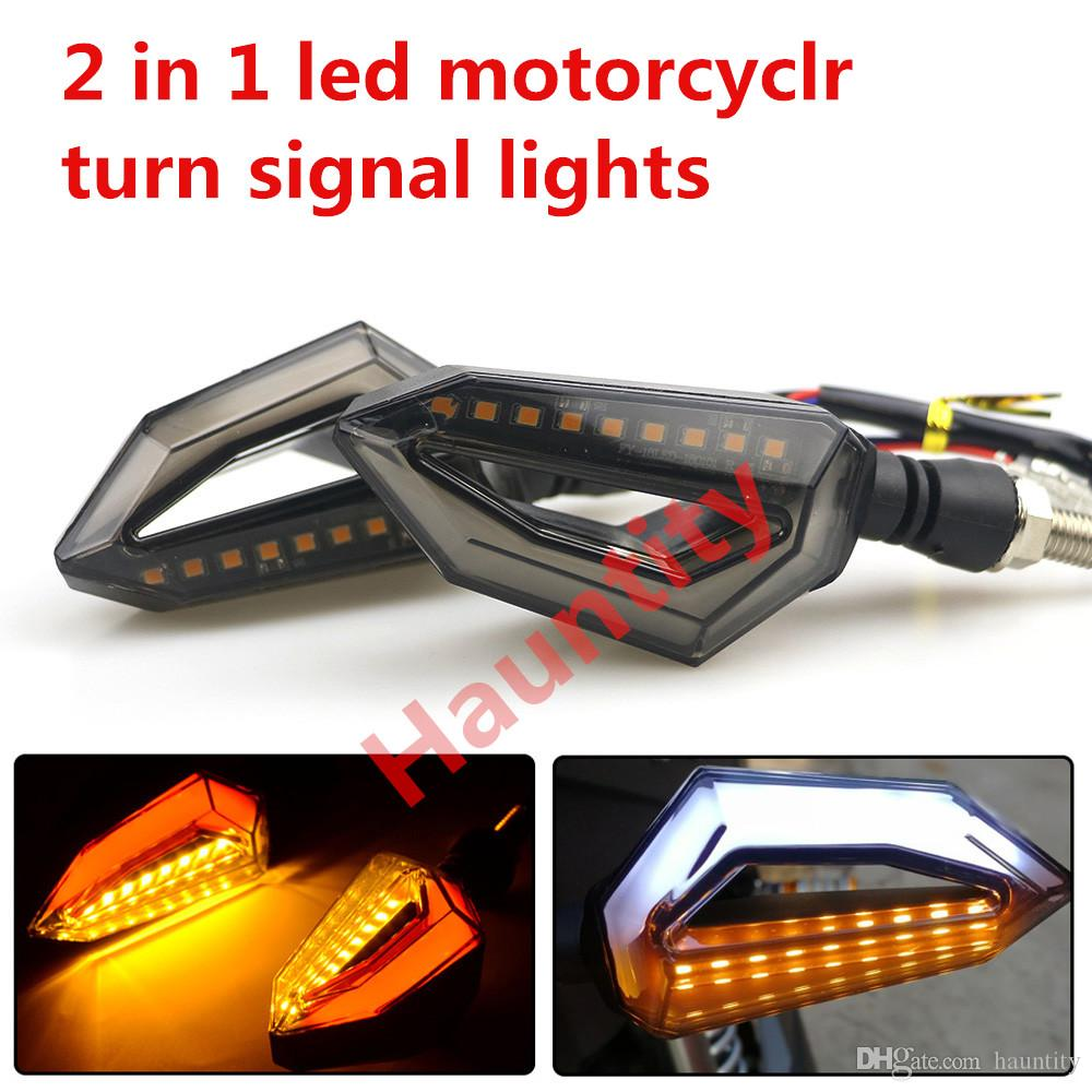 Motorcycle Led Turn Signals Wiring Trusted Schematics Diagram For Indicators Signal Lights Amber Lamp Left Right Truck Lite