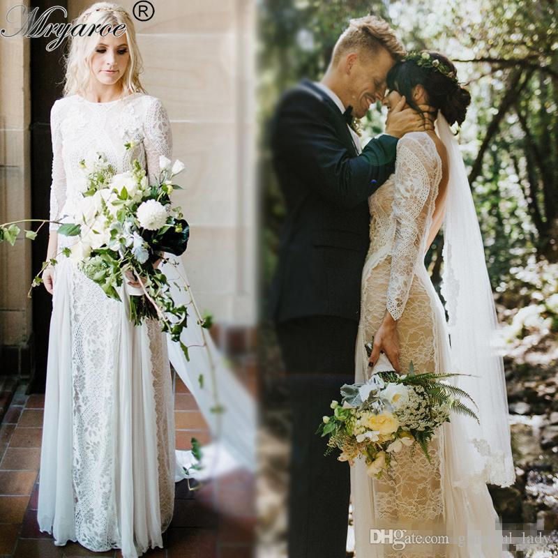 Farm Country Wedding Dresses