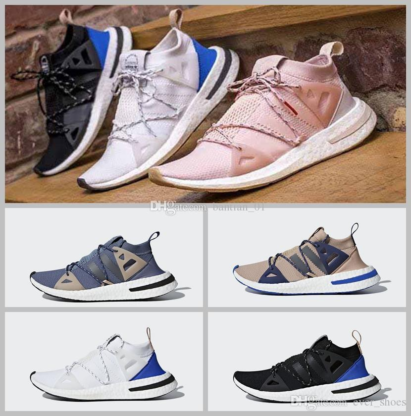 genuine online outlet store Locations 2018 Arkyn Boost Ash Pearl Primeknit TPU White Black Brown Deep Blue Ultra Boost Casual Shoes Women Men Designer Ultraboost Trainers discount amazing price authentic for sale bcadd