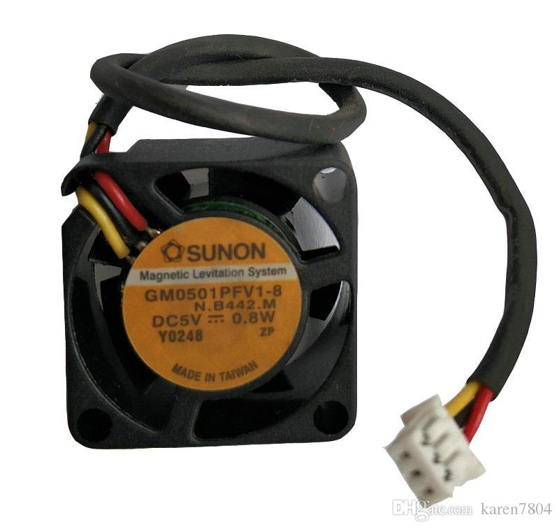 Nuevo original Sunon MC20100V1-D010-G99 MC20100V2-D020-G99 20 * 20 * 10MM 5V 20 * 20 * 10MM 2cm ventilador GM0501PFV2-8 GM0501PFV1-8 MC20100V2-D020-G99