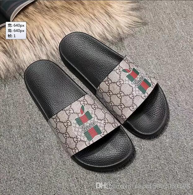 2e43affb89a 2018 Designer Tiger Slide Beach Designer Slippers Pursuit Satin ...