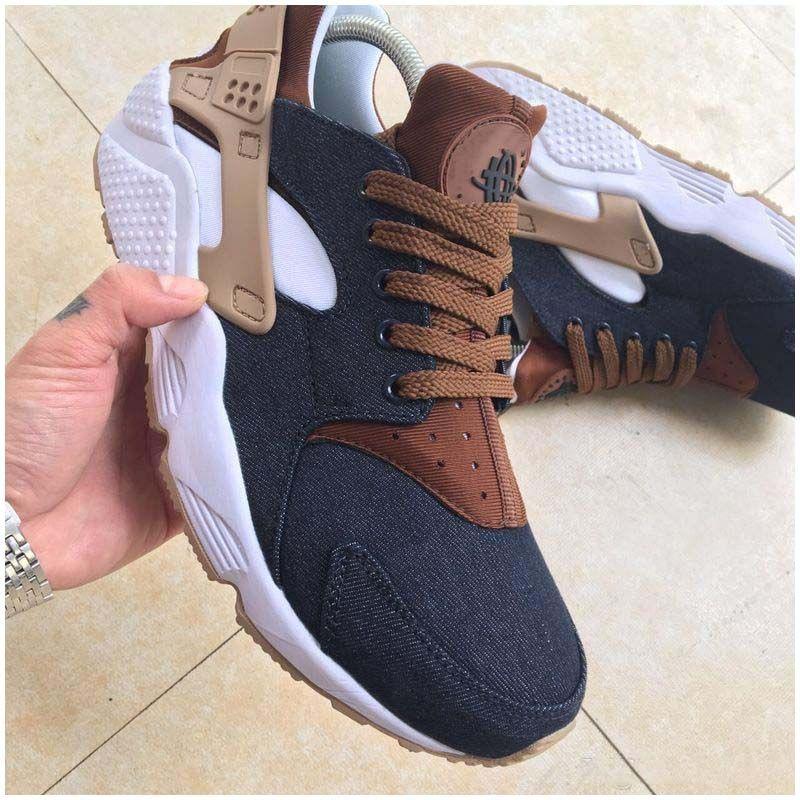 5df2ef4042ae 2018 Huarache ID Custom Breathe Running Shoes For Men Women