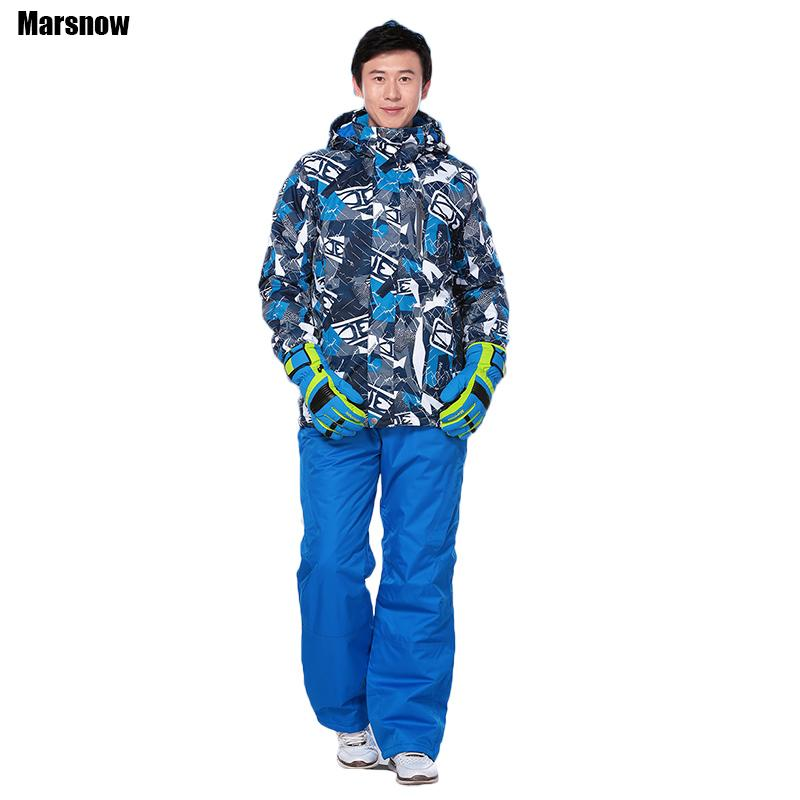 5e91e99aa623 Marsnow Skiing Suit Male Brand New Waterproof Windproof Winter ...