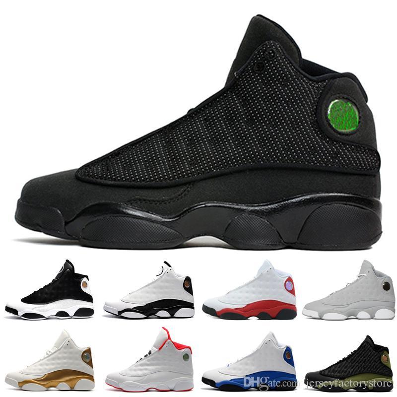 innovative design 16fd3 e02e4 13s 13 mens basketball shoes Hyper Royal Love Respect Black White Grey Toe  sneakers women sport trainers running shoes for mens designer