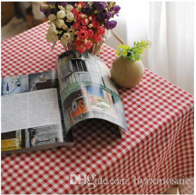 The Red Checkered Tablecloth Exotic British Cotton Cafe Simple Home  Furnishing Cover Towels Factory Direct Table Linens For Weddings Wedding Table  Cloth ...