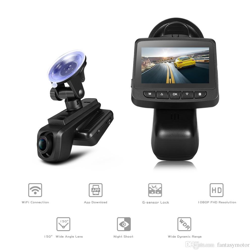 ZEEPIN WiFi Dash Cam 2 45-inch 1920 x 1080P FHD Car Driving Recorder 1080P  Car Video Recorder Wifi APP IPS Dashcam Car DVR 7 Days Delivered