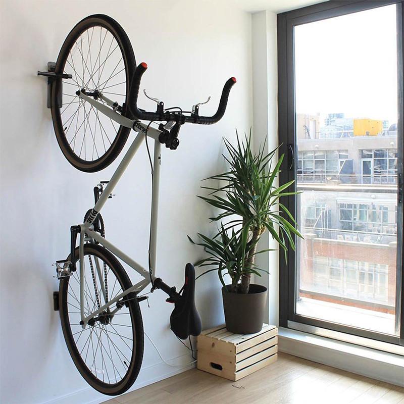 3c717e3e2 Compre Maxfind Bicicleta Bicicleta Parede Gancho Montar Titular Rack  Suporte Cabide Sistema De Armazenamento De Bicicleta Para Garagem   Galpão  Com Parafuso ...