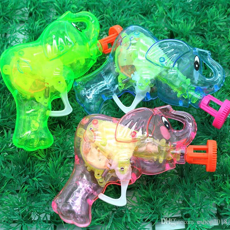 Automatic Flashing Bubble Gun Elephant Model Electric Rainbow Light Colorful Soap Bubbles Best Kid Outdoor Toy