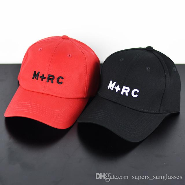 2018 Men Women Caps Novelty Hip Hop Streetwear Kanye West Harajuku Justin  Bieber M+RC Fashion Snapback Hat Baseball Cap Big Hats Hat Stores From ... b40eaef8589