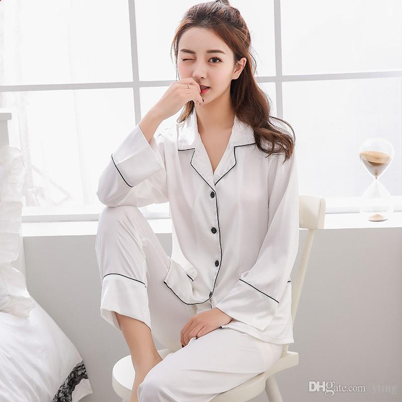 Acheter Date Mode Vetements De Nuit Pour Femmes Pyjamas Ensembles