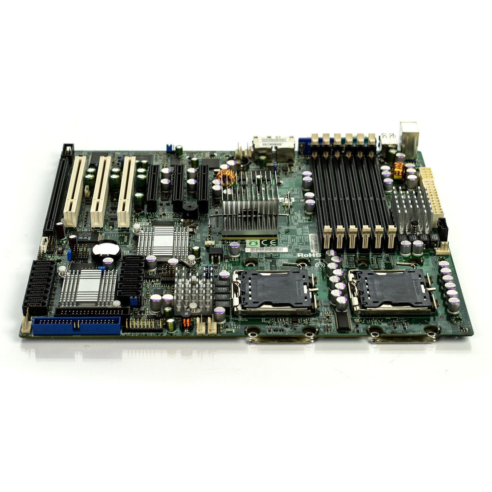X7DCL-3 5100 yonga iş istasyonu anakart Xeon 54-pin serisi 771 destekler 100% testi iyi kalite