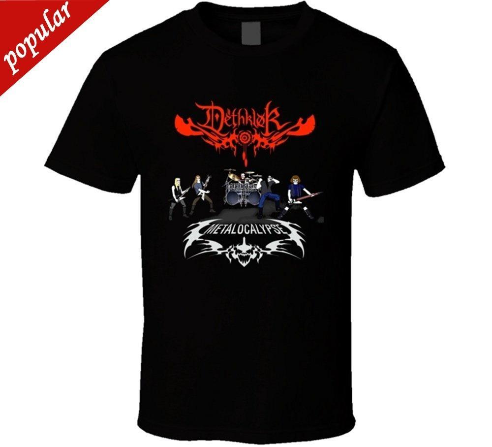 094bc5e24782 Novelty Design Men Metalocalypse Dethklok T Shirt Cartoon Tee Shirt ...