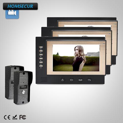 Homsecur Tm701r-b Indoor Monitor Für Hdw Verdrahtete Video Tür Telefon Intercom System Sicherheit & Schutz