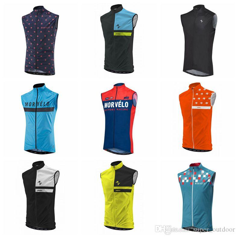 9f7890299 2018 Morvelo Cycling Vest Sleeveless Bicycle Tops MTB Ropo Millot Cycling  Jerseys Size XS 4XL For Sale V Neck Tops Cycling Clothing Uk From  Super outdoor