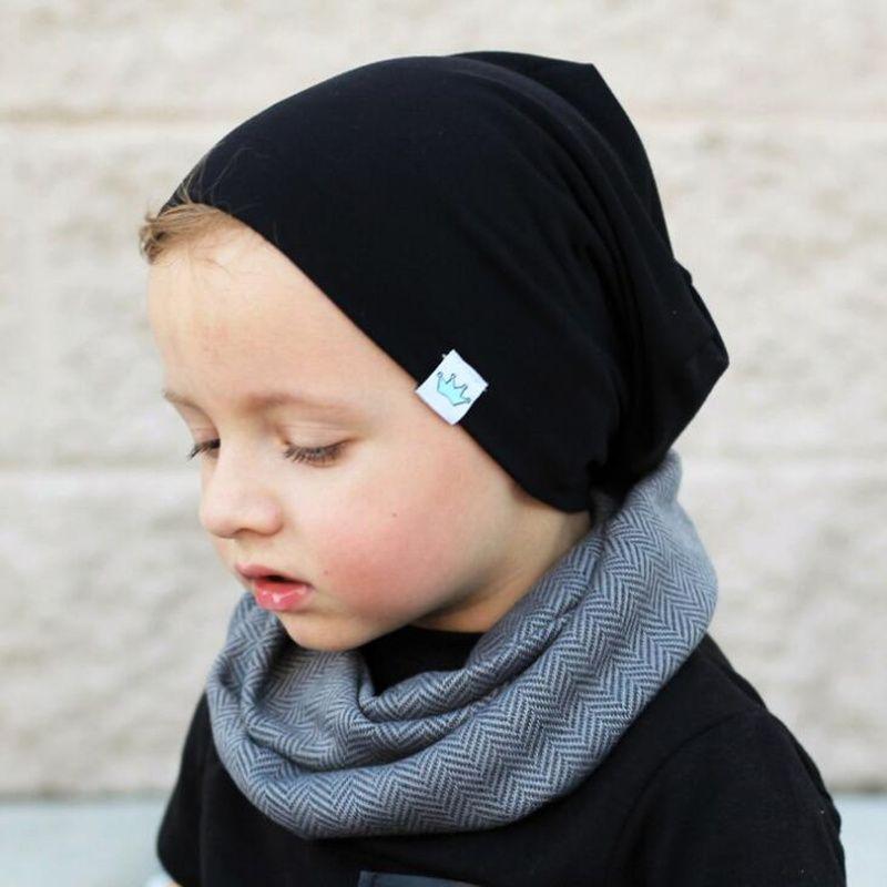 Großhandel Feste Säuglingsbaby Wintermütze Mütze Warm Kids Baby Boy ...