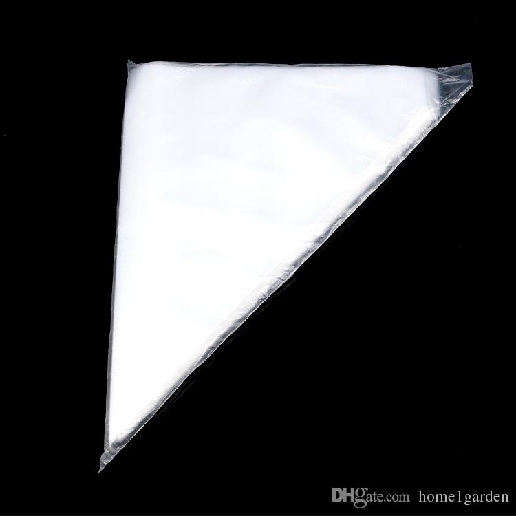 10 * 6.5 дюймов 100шт одноразовые пластиковые кондитерские украшения мешок утолщение обледенения мешки торт кондитерские сыр инструменты